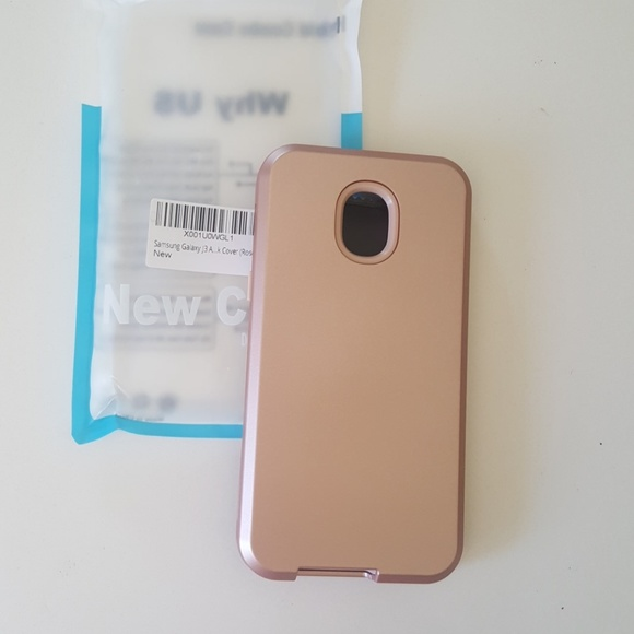 reputable site 4f01e d91d9 Samsung galaxy J3 rose gold case NWT